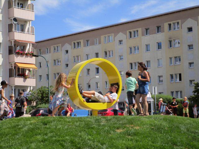 Eröffnung Spiel- und Bewegungsfläche Wohngebiet Brückenstraße