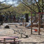 Spielplatz auf der Schillerpromenade