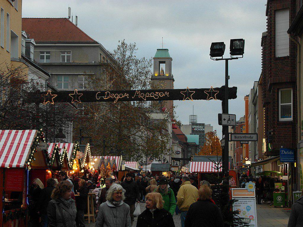 Weihnachtsmarkt in der Altstadt Spandau