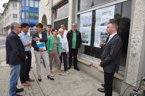 Infrastrukturministerin Frau Kathrin Schneider zu Besuch in Seelow, Foto: Stadt Seelow
