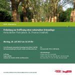Einladung zur Eröffnung des Anita-Berber-Parks