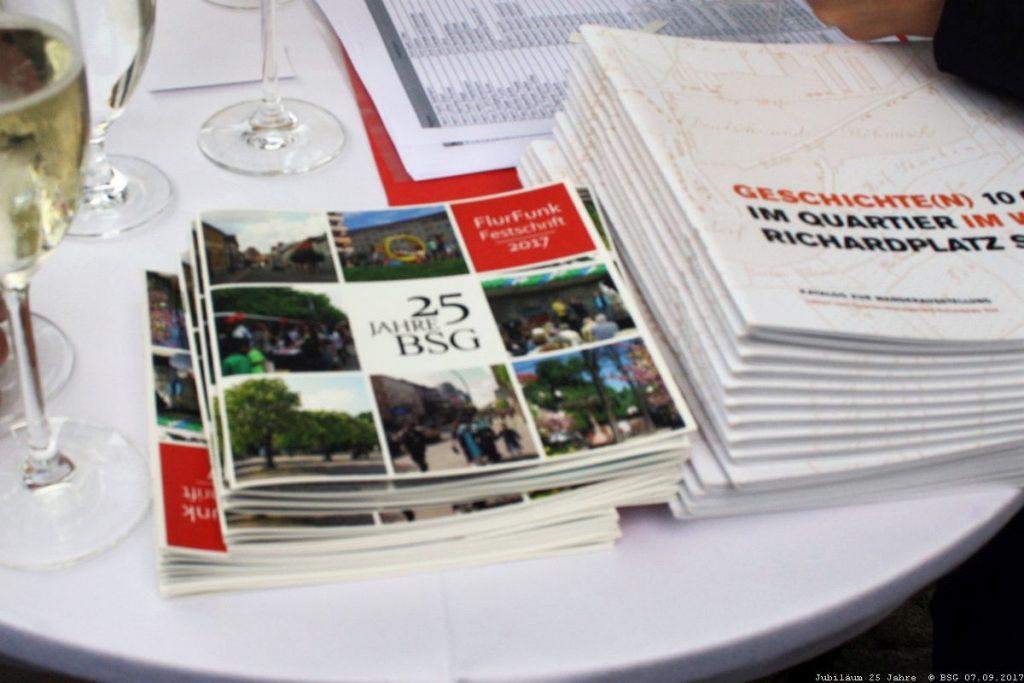 """Die Festschrift zum Jubiläum """"25 Jahre BSG"""""""
