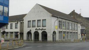 Das leerstehende Kaufhaus Seelow 2013