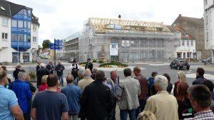 Richtfest Kaufhaus Seelow, 2017