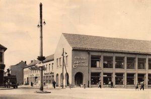 Kaufhaus Seelow (hist. Postkarte)