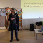 Stadtteilkonferenz Schillerkiez: Quartiersmanagerin Agnes Ludwig fasste die Ergebnisse zusammen