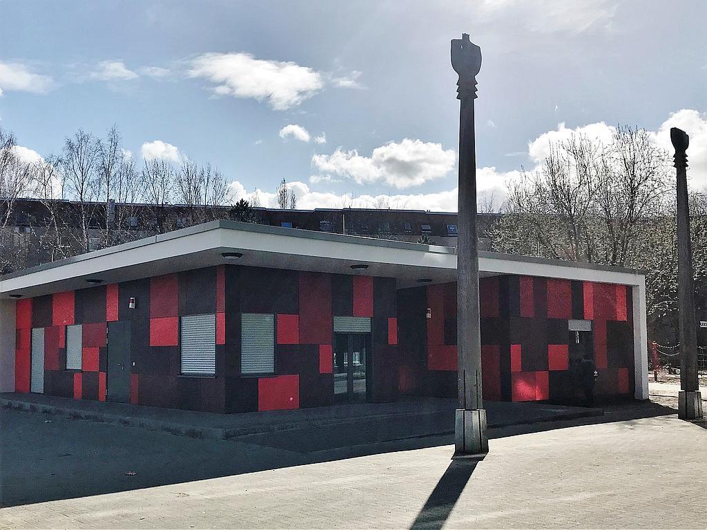 Feierliche Einweihung Gemeinschaftshaus und Kinderpavillon am Droryplatz
