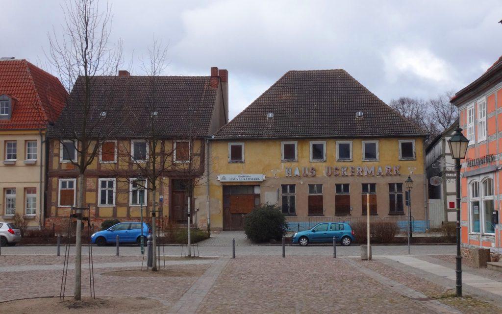 Haus Uckermark vor der Sanierung
