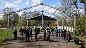 Präsentation der Wettbewerbeiträge Kulturpark Strausberg / Landratsamt zum Tag der Städtebauförderung